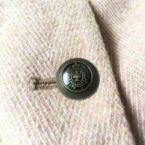 GAP Jackets & Coats - Gap The Academy Herringbone Pink Blazer